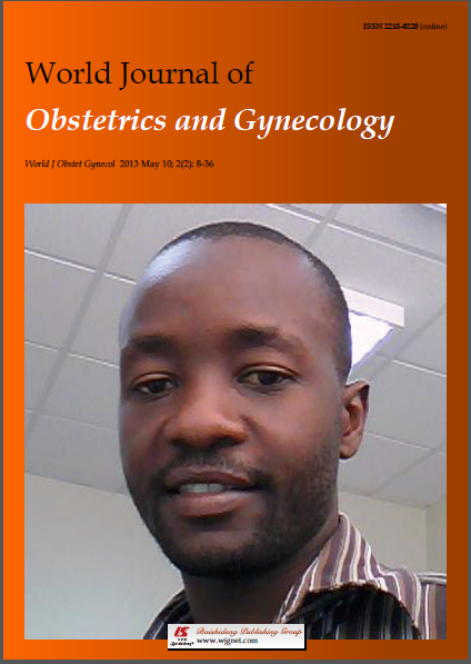 World Journal Obstetrics and Gynecology