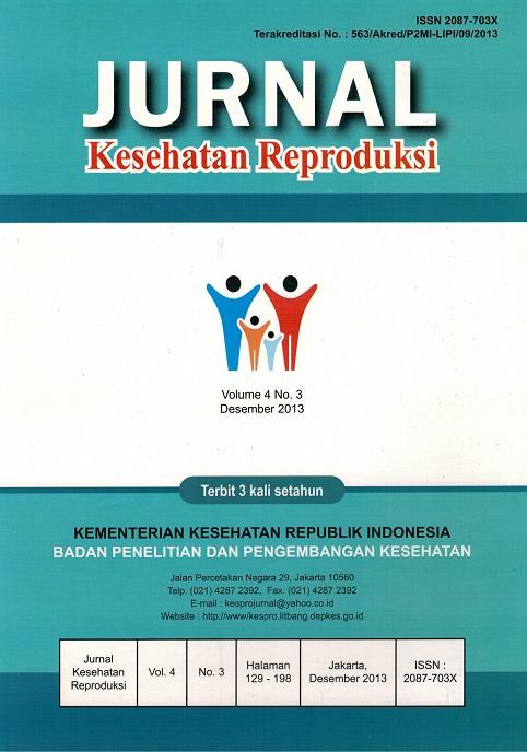 Jurnal Kesehatan Reproduksi