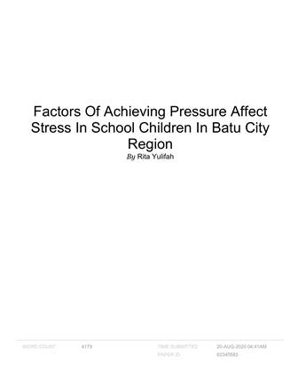 Factors_Of_Achieving_Pressure_Affect_Stress_In_Sch